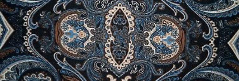 Baroque Blue Ivory