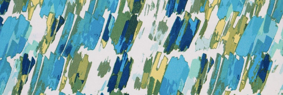 Blue-Green Abstract Splash Fabric Choice