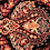 Thumbnail: Ornate in Shades of Crimson with Blue Border