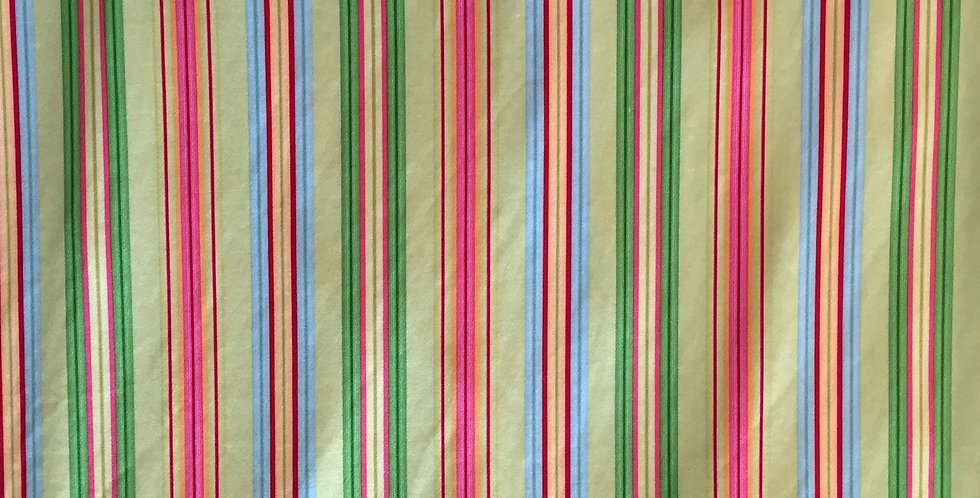 Pinks-Greens-Blues Stripes Fabric Choice