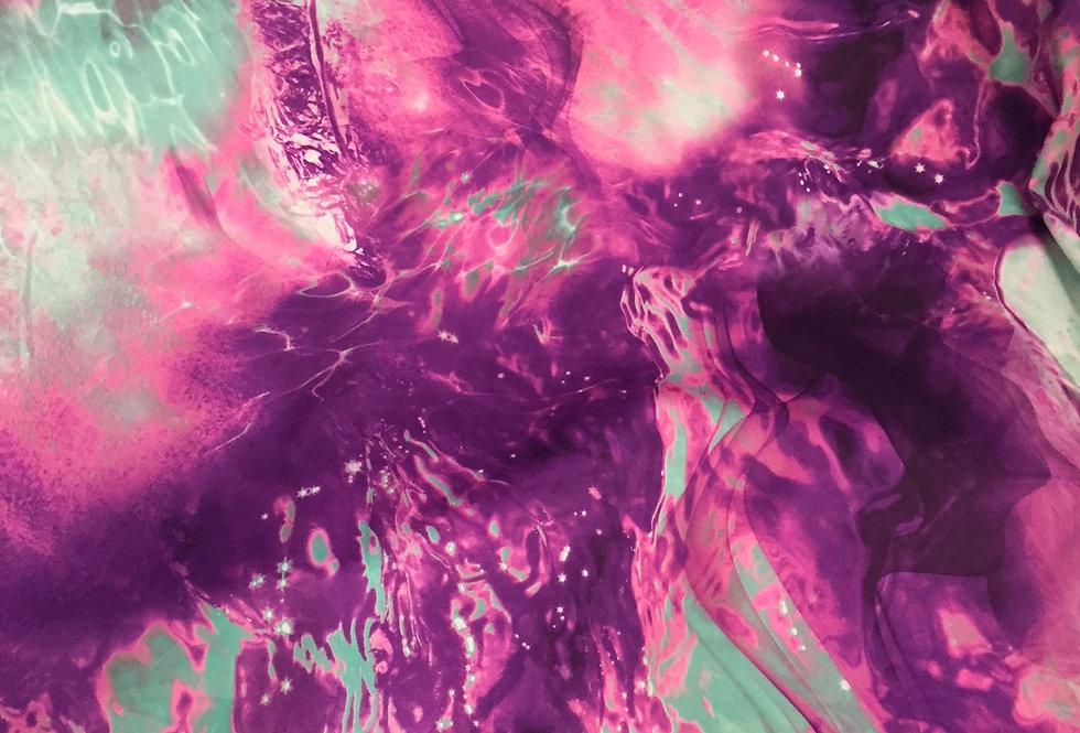 Purple Mint Tie Dye