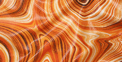 Amber Whirlpool Gloss Fabric Choice