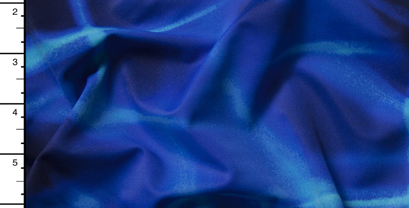 Blue Tornado Abstract Fabric Choice
