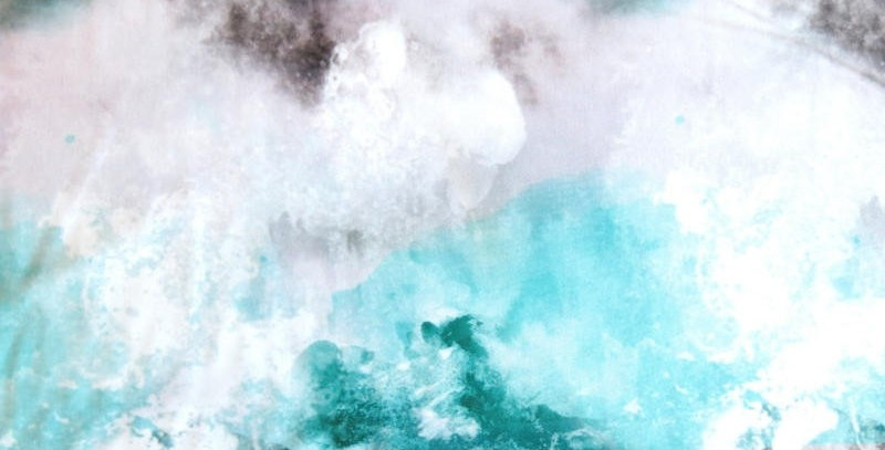 Abstract Shades of Gray, Mint and Teals Fabric Choice