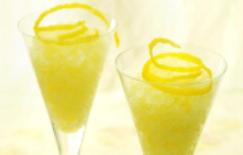 Limonada a la menta frappé