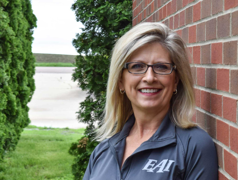 Image of woman, Denise Gaalswyk, Owner and Vice President of Easy Automation Inc.