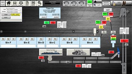 FERTILIZER RECEIVING CONTROL SYSTEM