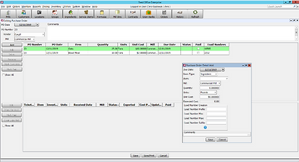 RECEIVING CONTROLS - PURCHASE ORDER