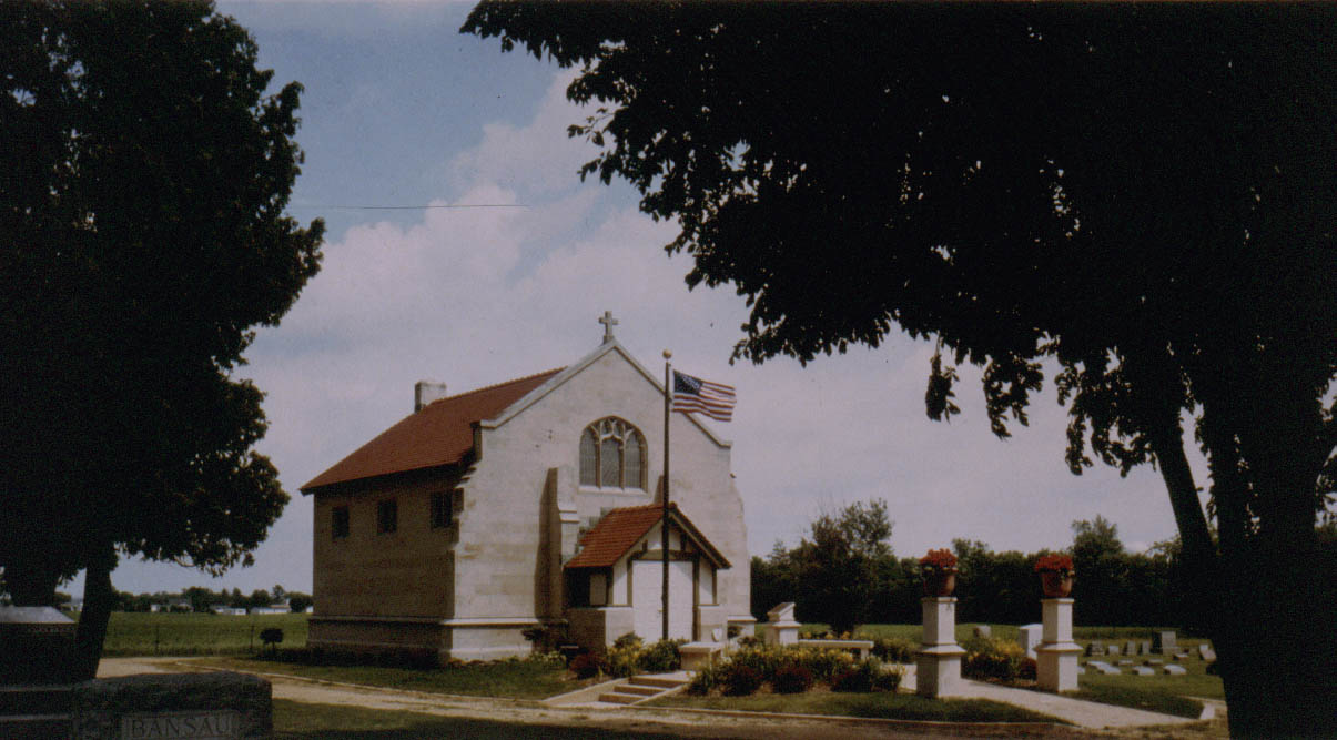 Prairie Repose Cemetery Chapel