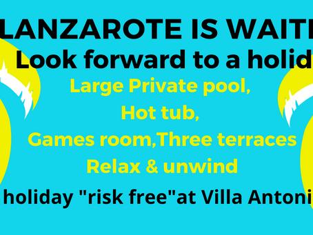 Lanzarote - lots of positive signs!