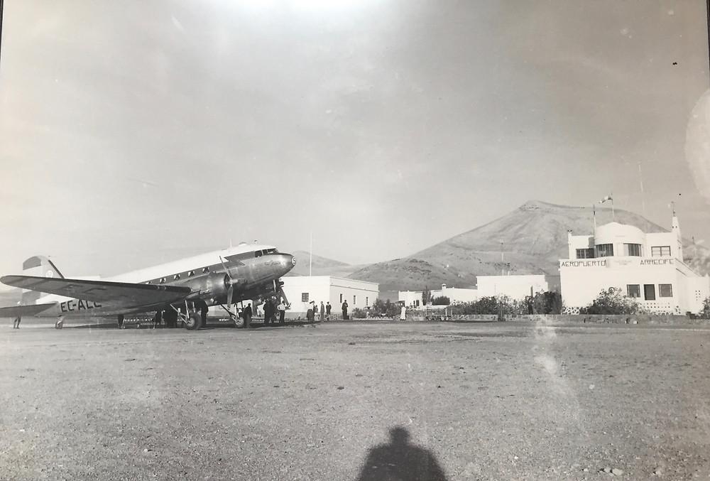 Lanzarote airport prior to 1970
