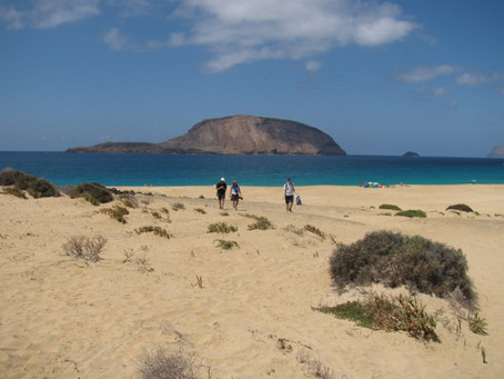 Go for a walk in Lanzarote!