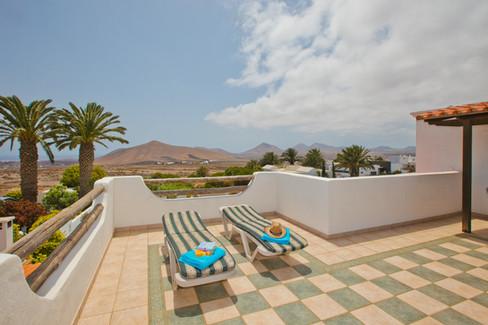1st floor private terrace