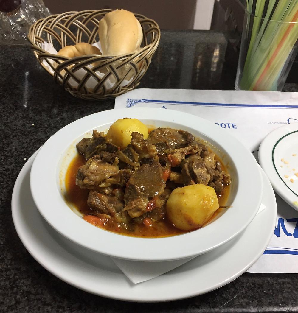 Goat stew Socidad Nazaret