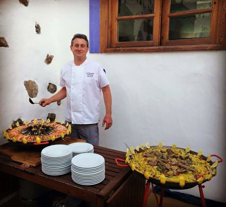 Chef for hire in Lanzarote