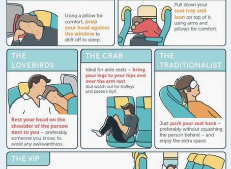 How to sleep on a plane?