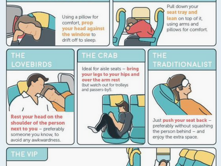 How to sleep on a plane?