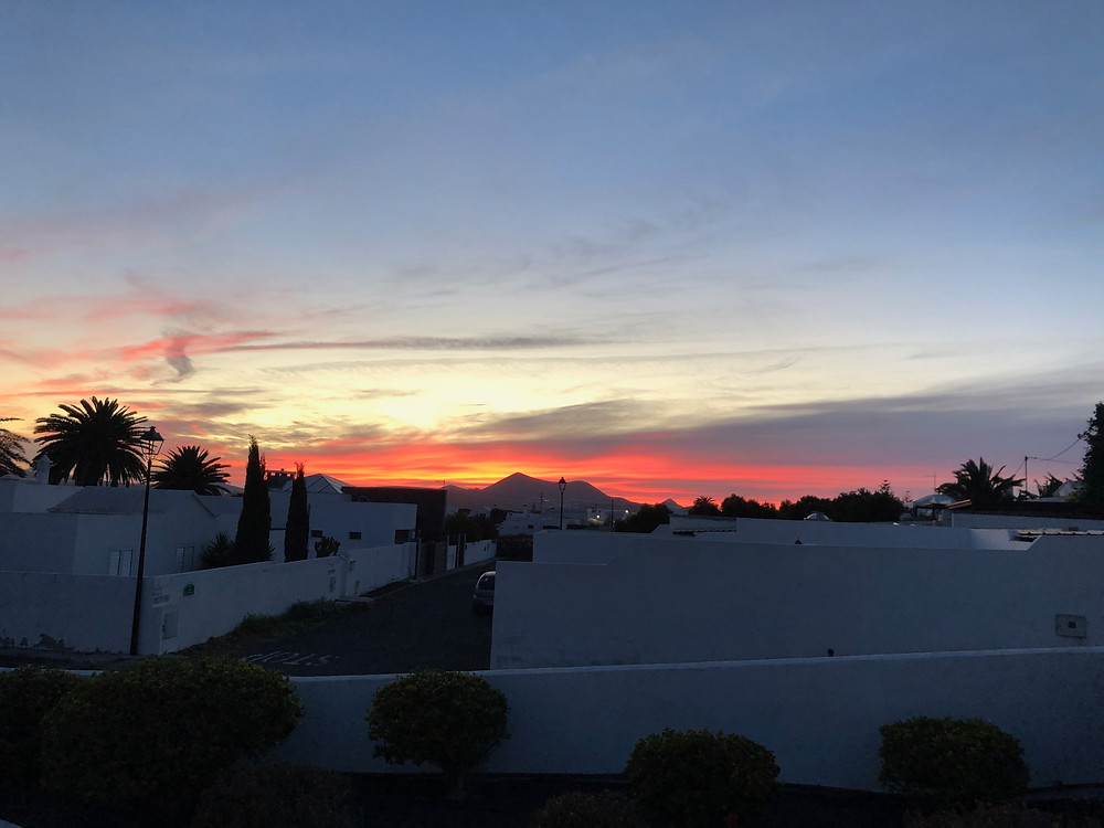 Sunset at Oasis de Nazaret