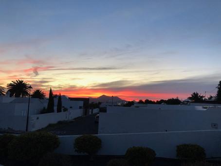 Sunset in Oasis de Nazaret