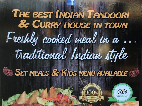 Found a great Indian Restaurant..........