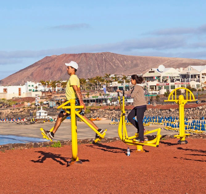 fitness in lanzarote