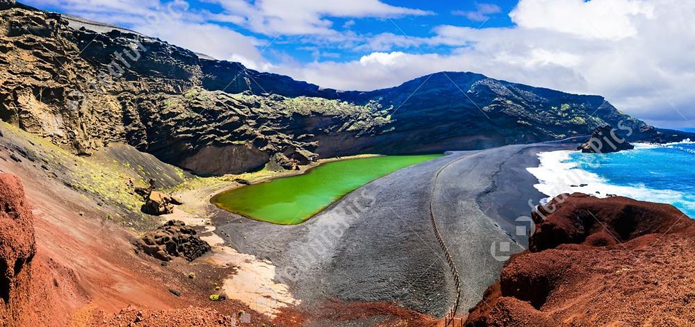 lagos verde Lanzarote