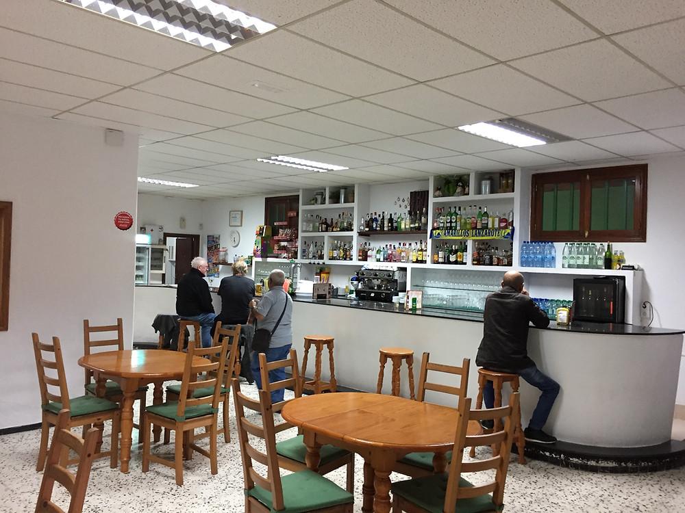 Bar at Socidad Nazaret