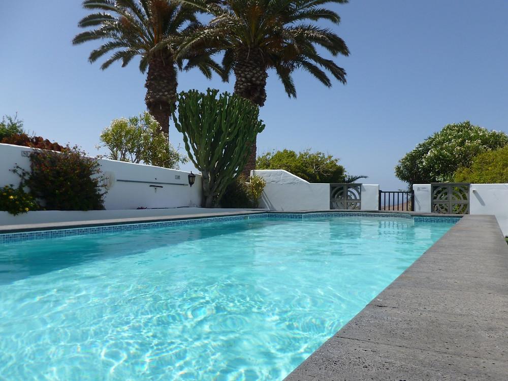 Villa Antonio Lanzarote pool
