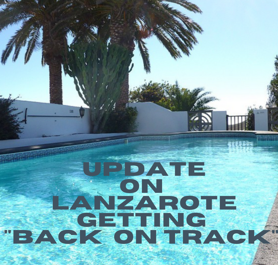 Lanzarote back on track