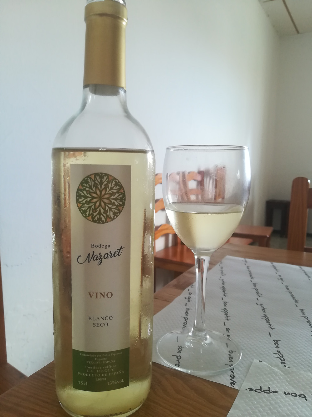 New Lanzarote wine
