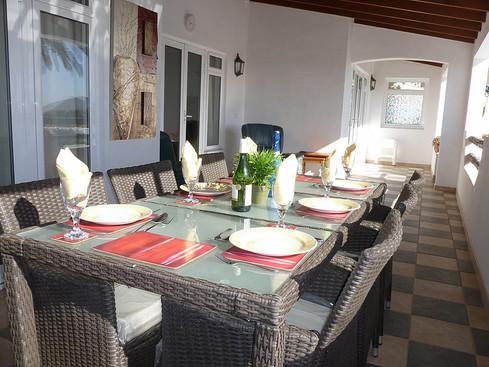 Dine on the Terrace