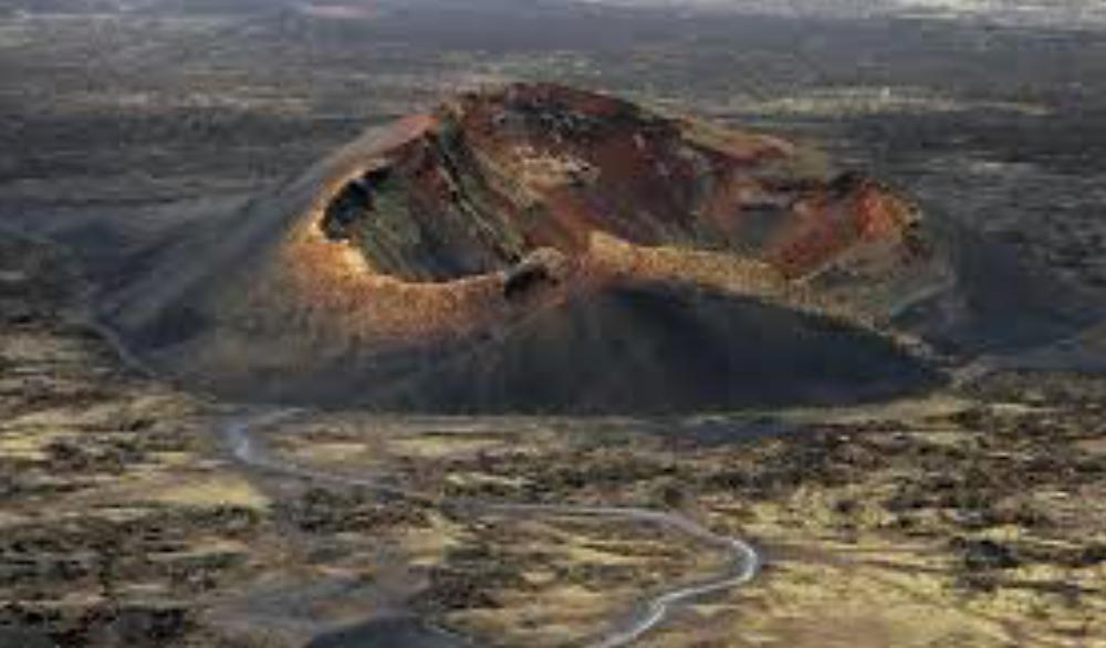 Volcano El Cuervo