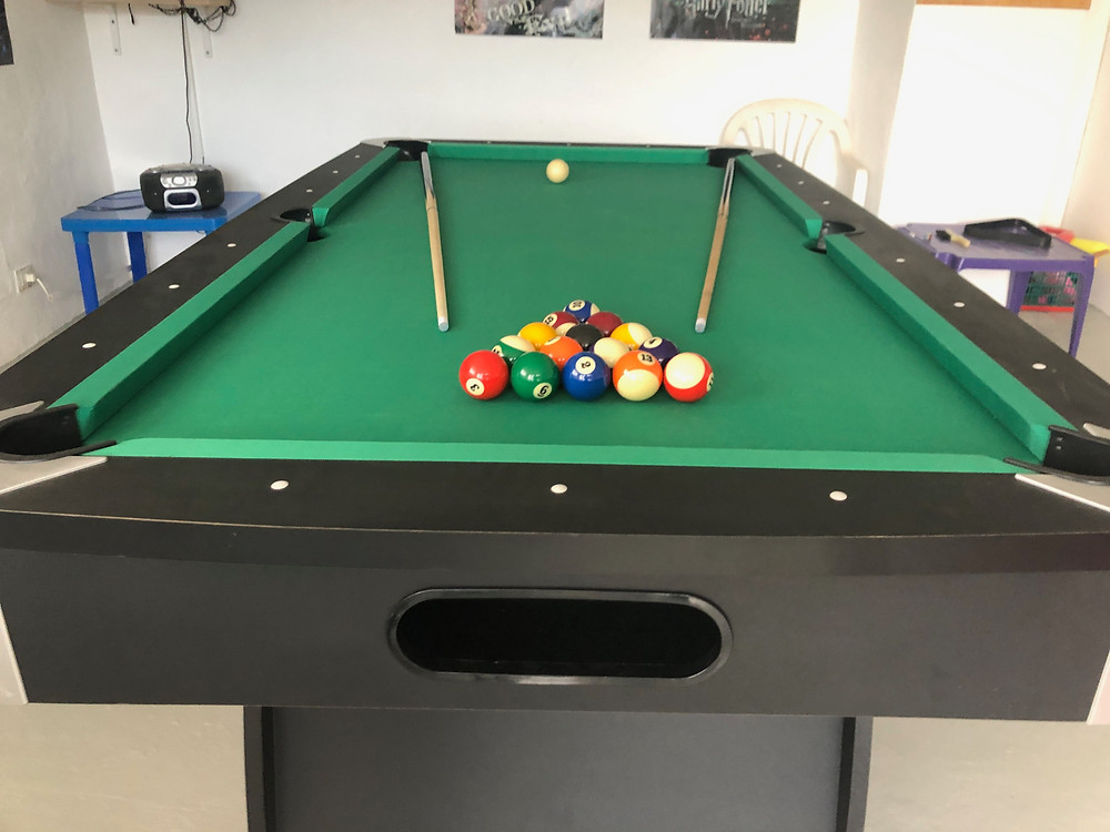 7ft Pool table at Villa Antonio Lanzarote