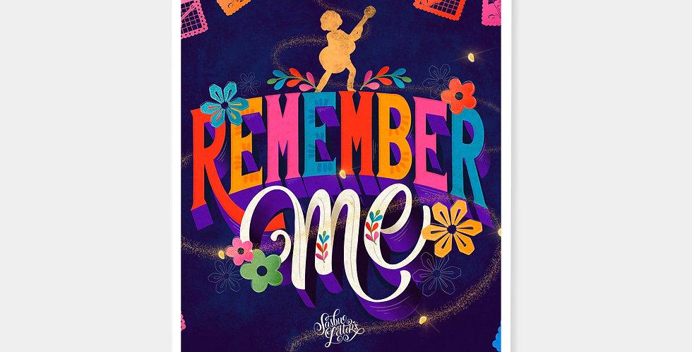 Prints - Remember Me
