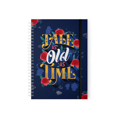 La Bella y la Bestia - Tale As Old As Time - Argollado