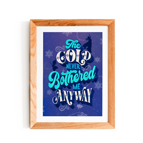 Frozen - The Cold Never Bothered me Anyway