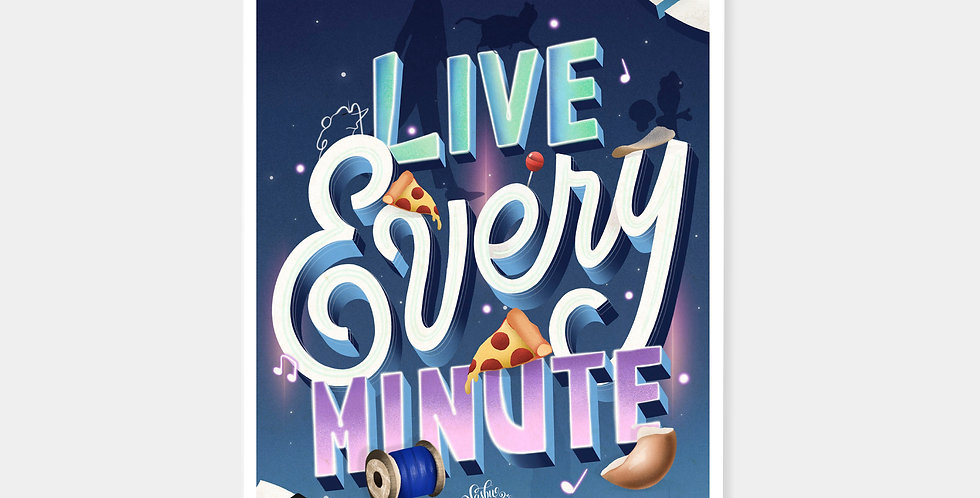Prints - Live Every Minute