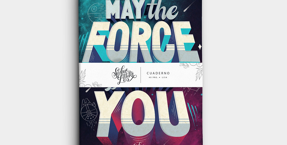 Cuaderno - May The Force Be With You