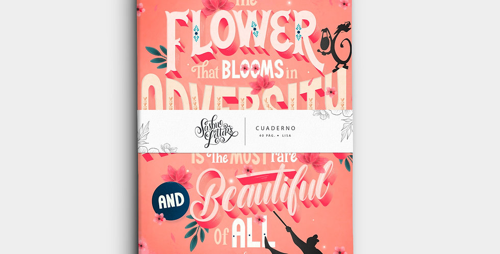 Cuaderno - The Flower That Blooms
