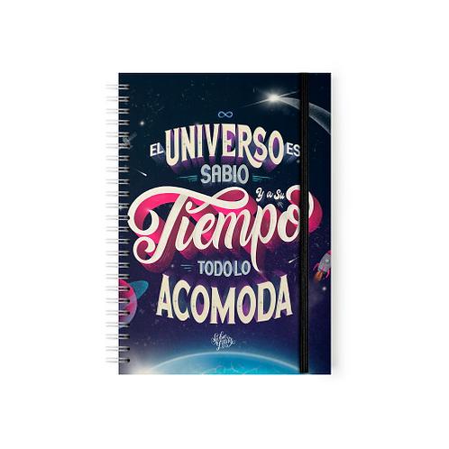 El Universo Es Sabio Y A Su Tiempo Todo Lo Acomoda - Argollado