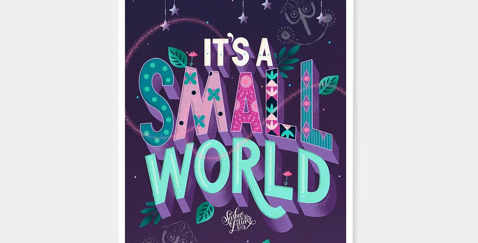 Prints - It's A Small World