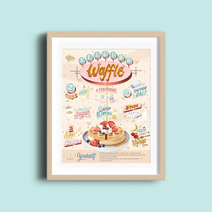Recipe Belgian Waffle