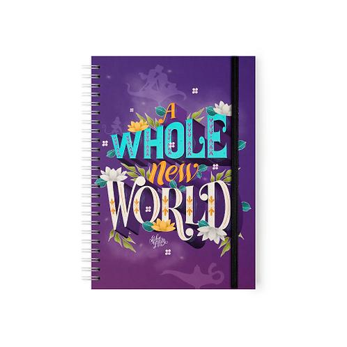 Aladdin - A Whole New World - Argollado