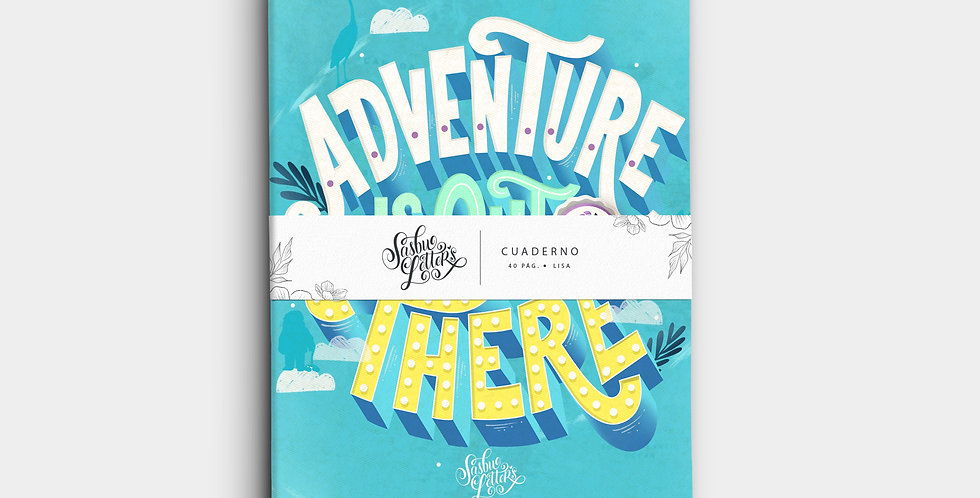 Cuaderno - Adventure Is Out There