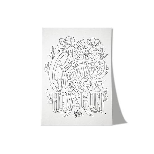 Prints - Be Creative & Have Fun