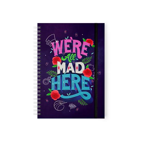 Alicia en el país de las maravillas - We're All Mad Here - Argollado