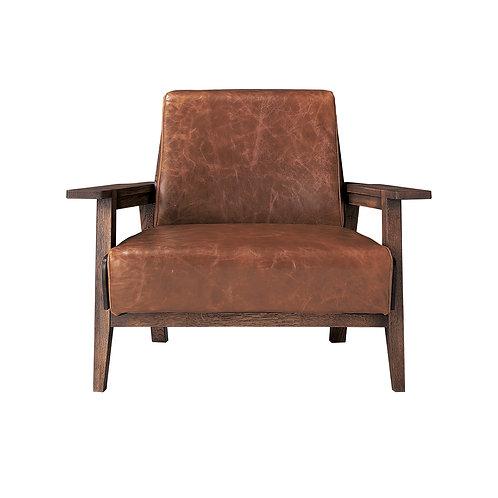 Whisky Oak 1P Sofa (Upholstery Type)