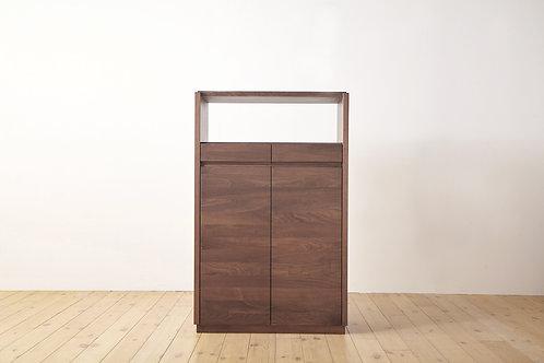 Puro Low Cabinet Walnut 084