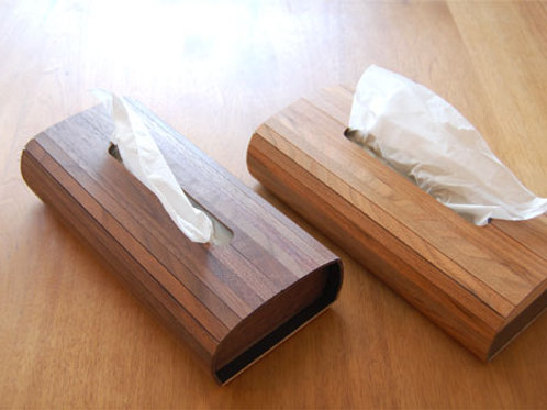Bellows Tissue Box
