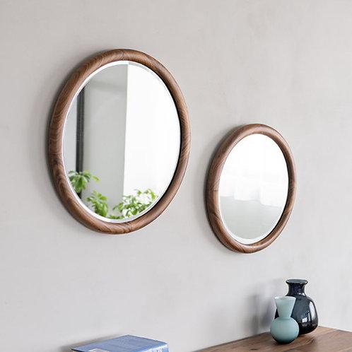 Suk Round Mirror